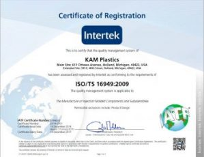 ISO TS Certification